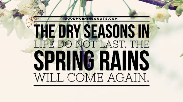 Rainy Spring Quotes