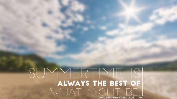 Meaningful Summer Quotes