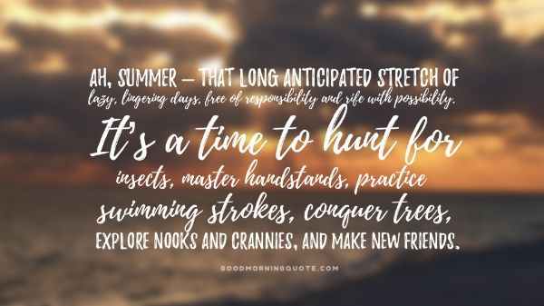 Summer Fitness Quotes