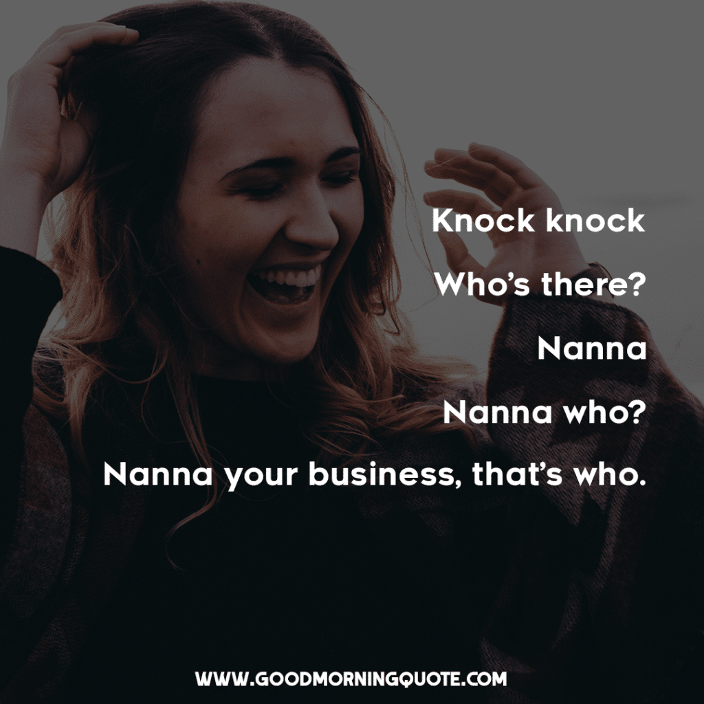 20 Funny Knock Knock Jokes Good Morning Quote