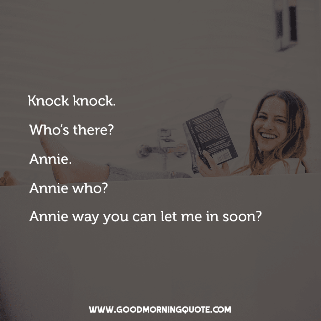 20 Funny Knock Knock Jokes - Good Morning Quote
