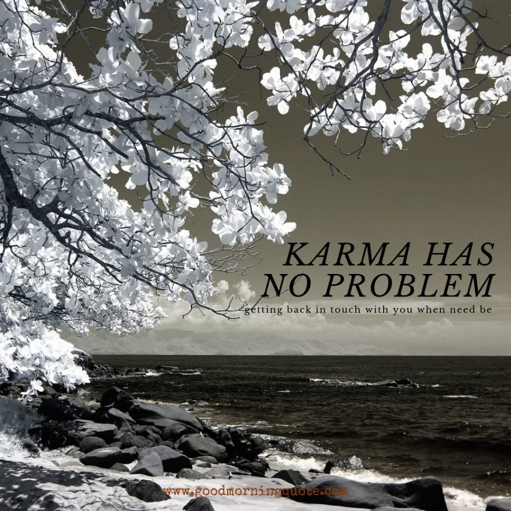 karma quotes, karma sayings, good karma quotes, bad karma quotes,  karma will get you, quotes about karma coming around,  what goes around comes around quoets, quotes on karma and justice,