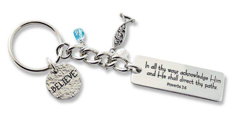faith keychains