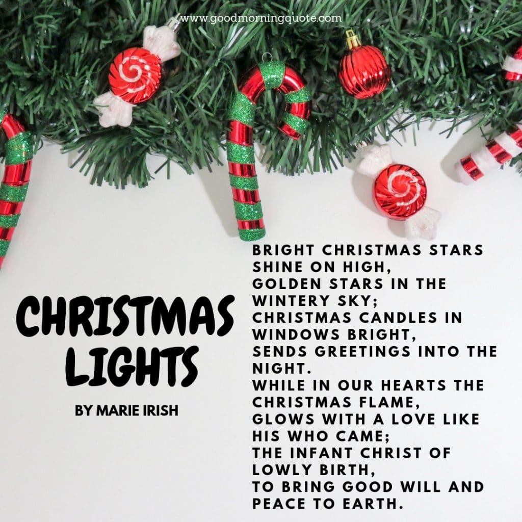 Wonderful Christmas Poems To Give You That Festive Feeling