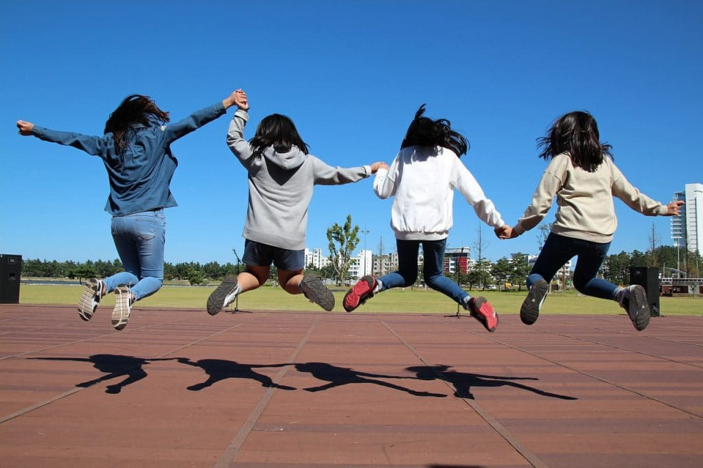 jumping teens inspirational quotes for teens