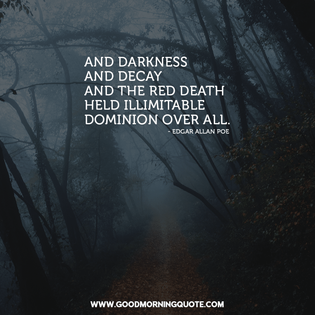 Chilling Edgar Allan Poe Quotes About Darkness And Mystery