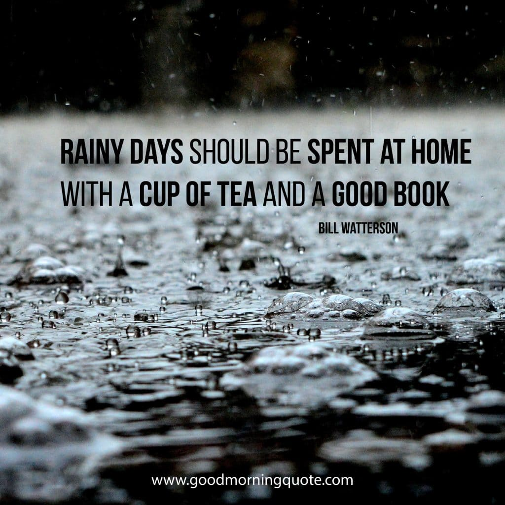 Quotes About Rainy Days: Rainy Day Quotes And Sayings To Brighten Your Day