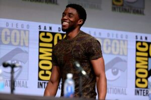 chadwick boseman quotes giving a speech at comic con