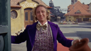 gene wilder dressed as willy wonka