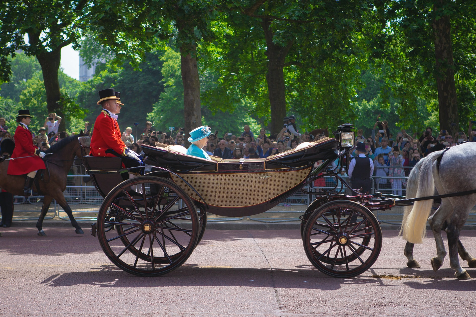 quotes from queen elizabeth riding in a carriage